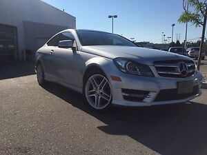 2012 c-class 250 coupe c250, AMG sport package.