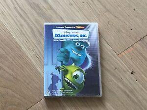 Monster inc DVD set Kensington Melbourne City Preview