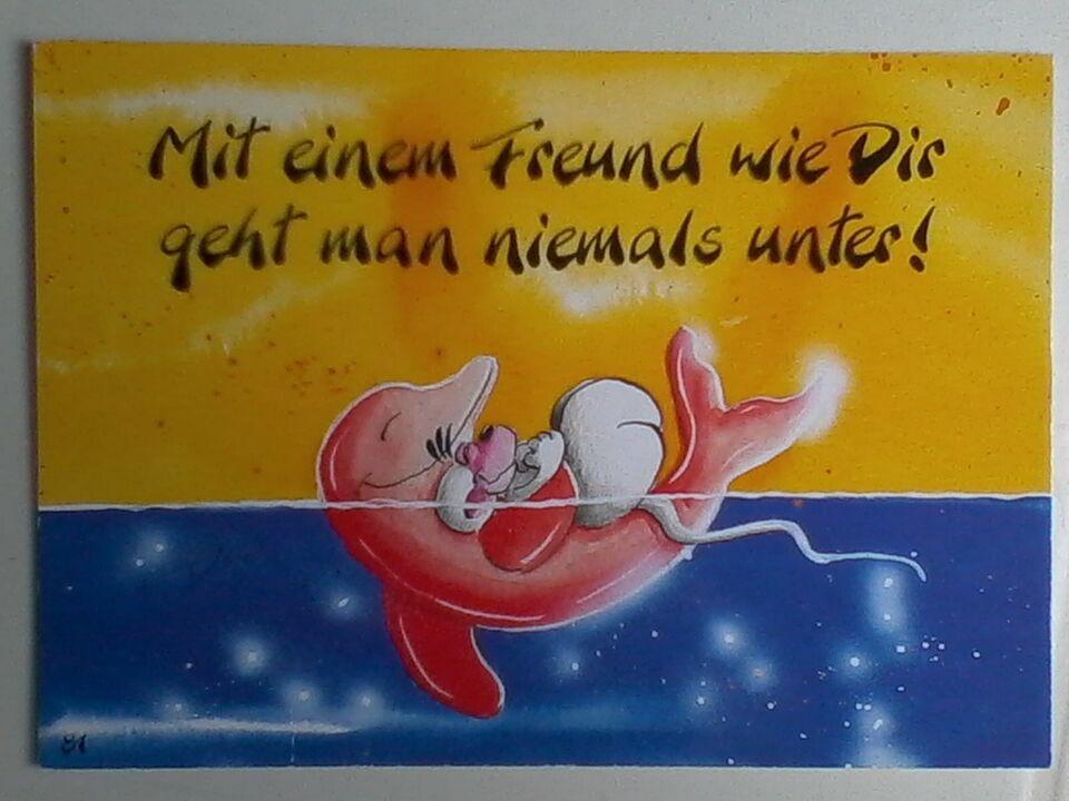 Postkarte – DIDDL – Nr. 81 d – Sammelkarte – Spruch – Mit einem in Bayern - Adlkofen