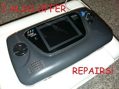 Sega Game Gear 100% Tested New Capacitors and Screen Protector FREE GAME  Free Game Systems