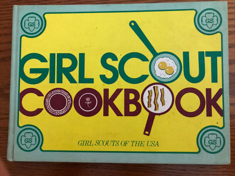 Girl Scout Cookbook Girl Scouts Of The USA - 1971 Hardback Ex-library RARE