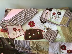 Girls Room Queen Bedding Set