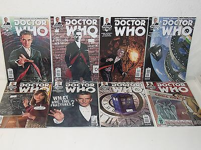 Doctor Who 12Th Dr  1 7   Robbie Morrison Dave Taylor   Bonus 10Th Dr Variant
