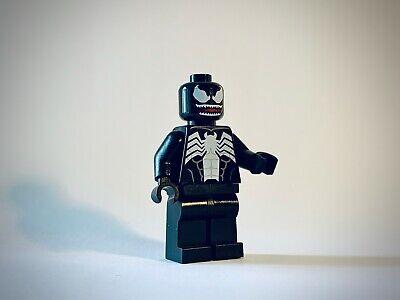 Lego Spider-Man Minifig - Venom - Red Mouth - sh542 - 76115