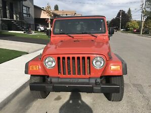 Jeep tj 2006 4 cylindres 2.4 litre