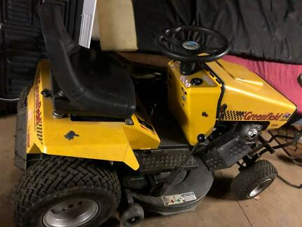 Ride on mower - Greenfield 12.5 HP - 23 Hours only