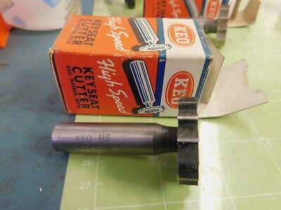 Keo 1.275 X .2485 Woodruff Key Seat Hs Cutter 12 Shank 810
