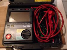 KYORITSU MODEL 3125 HIGH VOLTAGE TESTER Springfield Lakes Ipswich City Preview