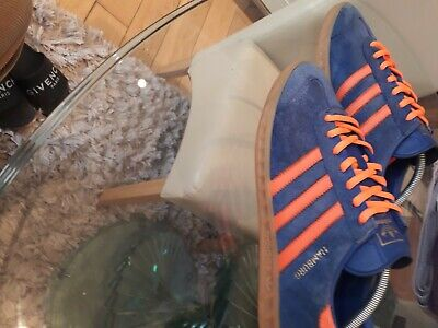 Adidas Hamburg 10 Blue and Orange