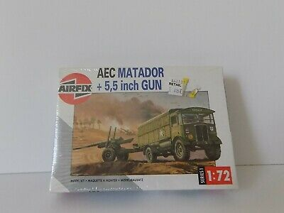 AIRFIX 01314 SERIES 1 AEC MATADOR + 5,5 INCH GUN STILL SEALED ! 1:72 for sale  Northampton