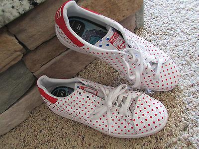 Adidas Pharrell Williams Stan Smith Shoes Sneakers Mens 13 B25401 Polka Dot