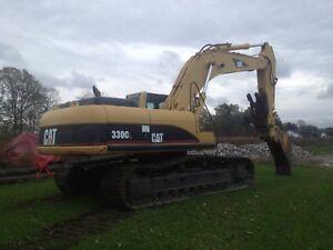Caterpillar 330c lc excavator