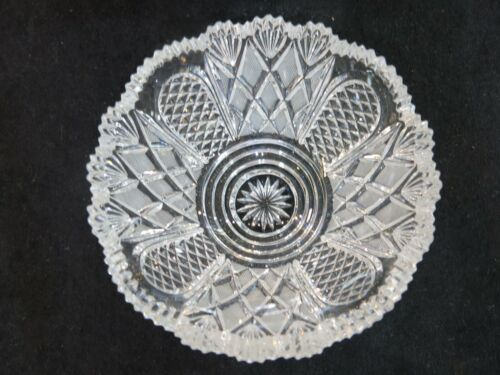"Epergne Crystal Replacement Bowl. 5.1"" diameter. Others Available."