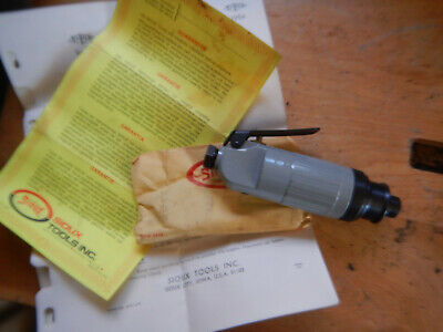 Older Sioux 1954 14 Air Pneumatic Die Grinder With Manual And Wrenches