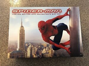 Spider-Man Limited Edition DVD Collector's Gift Set - Only $40!