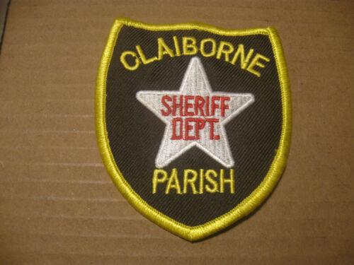 CLAIBORNE PARISH LOUISIANA SHERIFF POLICE PATCH