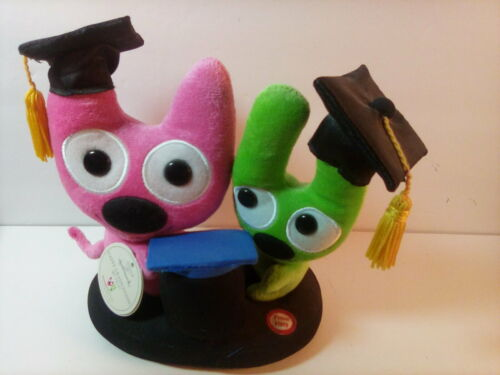 "Hallmark ""Hoops & YoYo"", Talking "" Happy Graduation"" Plush W/Tag"