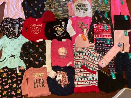 NEW Huge Girls Size 2T  Clothing Lot FALL & WINTER Name Brand NWT