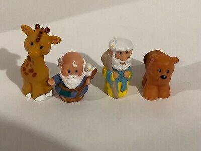 Fisher Price Little People Noah's Ark Zoo Replacement Figures Noah & Animals