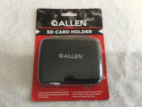 Allen SD Card Holder Case Holds 8 SD Cards  model 5211A