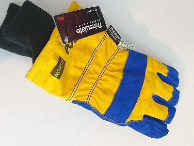3m Mens Leather Thinsulate Work Gloves Insulated Work Gloves North Polar Gloves