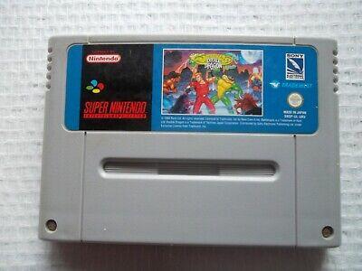 Jeu Super Nintendo / SNES Game Battletoads Double Dragon Pal retrogaming* RARE