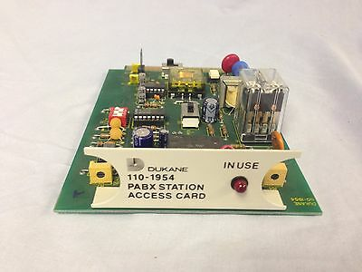 Dukane 110-1954 Pabx Station Access Pcb For 2a501 2b501 Or 2c501 Select A Page
