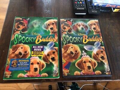 Authentic Disney Air Bud Spooky Buddies DVD Dog Halloween Costumes Puppies Movie - Disney Halloween Movie Dogs
