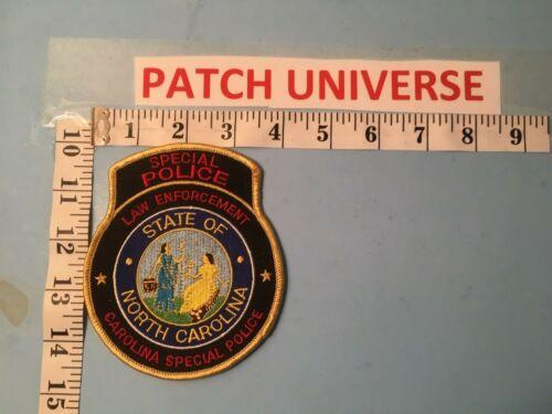 NORTH CAROLINA LAW ENFORCEMENT SPECIAL POLICE  SHOULDER PATCH  R025