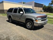 Chevrolet Suburban LT 2004 V8 6L vortec factory leather 8 seater Engadine Sutherland Area Preview