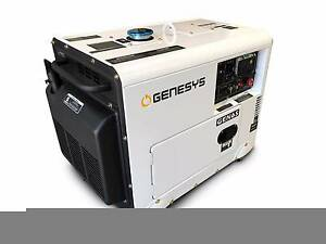 Diesel Generator 6KVA 240V Silenced Single Phase / Home / Back-up Kewdale Belmont Area Preview