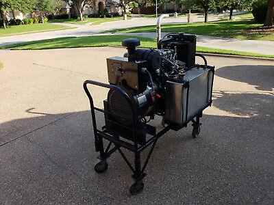 30 Kva Perkins Diesel Generator 3 Phase Only 3364 Hours