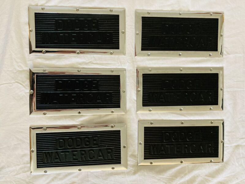 6 Original Dodge Step Pads