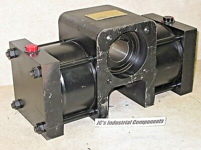 Parker Rotary Actuator  Pneumatic  Hp4.5-0903-aa2  90 Deg  4500 In Lbs