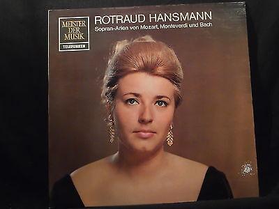 Rotraud Hansmann - Sopranarien von Mozart, Monteverdi und Bach