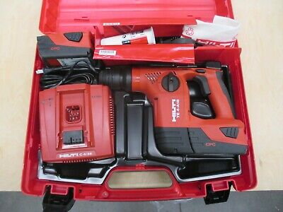 Hilti Te 4-a18 Cordless Rotary Hammer Drill Kit - 3462773 Complete
