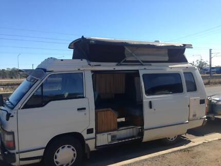 FOR SALE 1986 TOYOTA HIACE HITOP CAMPERVAN + CAMPER TRAILER Gracemere Rockhampton City Preview