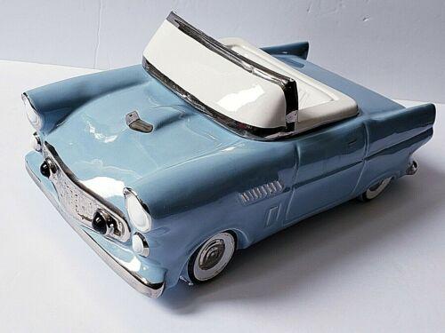 Rare Vintage Cookie Car Cookie Jar North American Ceramics 1956 Thunderbird