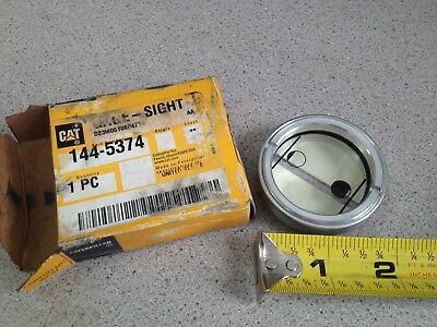 Genuine Oem Caterpillar Cat Gage-sight 144-5374 Nos New Old Stock Original Box