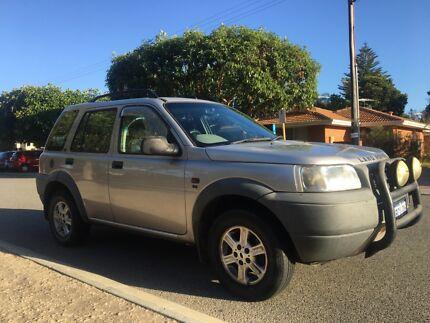 2002 Land Rover Freelander SUV Fremantle Fremantle Area Preview