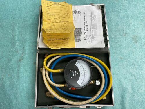 Vintage Watts TK-9A Regulator Backflow Preventer Test Gauge Kit