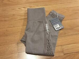 Gymshark Energy Seamless High Waisted Cropped Leggings XSMALL