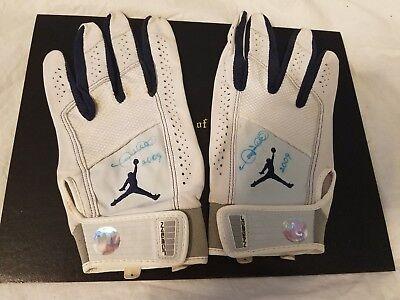 c73bd105f Gary Sheffield 2009 Game Used Autographed New York Mets Jordan Batting  Gloves