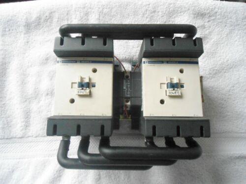 Telemecanique Reversing Contactor    230V Coil      LC2 D115     (2) LC1 D115