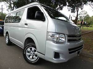 Hiace 4WD 10 Seater Low Roof LWB People Mover Canada Bay Canada Bay Area Preview