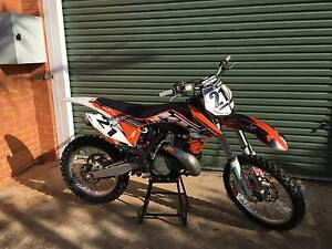 2012 KTM 250sx 2Stroke Brisbane City Brisbane North West Preview
