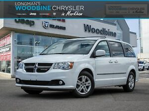 2016 Dodge Grand Caravan Crew/Leather Interior/Blu Ray DVD