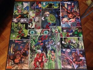 Table Harley Quinn et JLA
