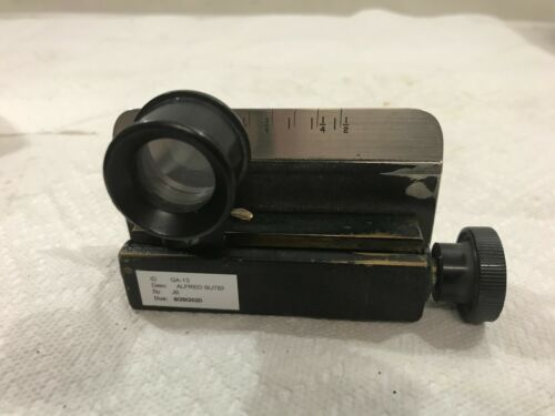 Vintage Alfred Suter QA-13 Textile Linen Prover Thread Counter Micrometer (R14)