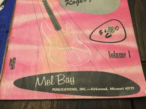 Vintage Music Books by Mel Bay from St Louis and Kirkwood Missouri 1948 and 1663